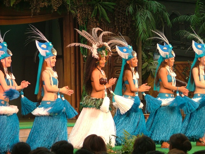 photoblog image Hawaiian dance show